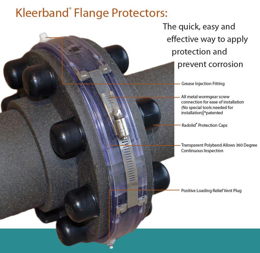 Flange protection system mercer innovation